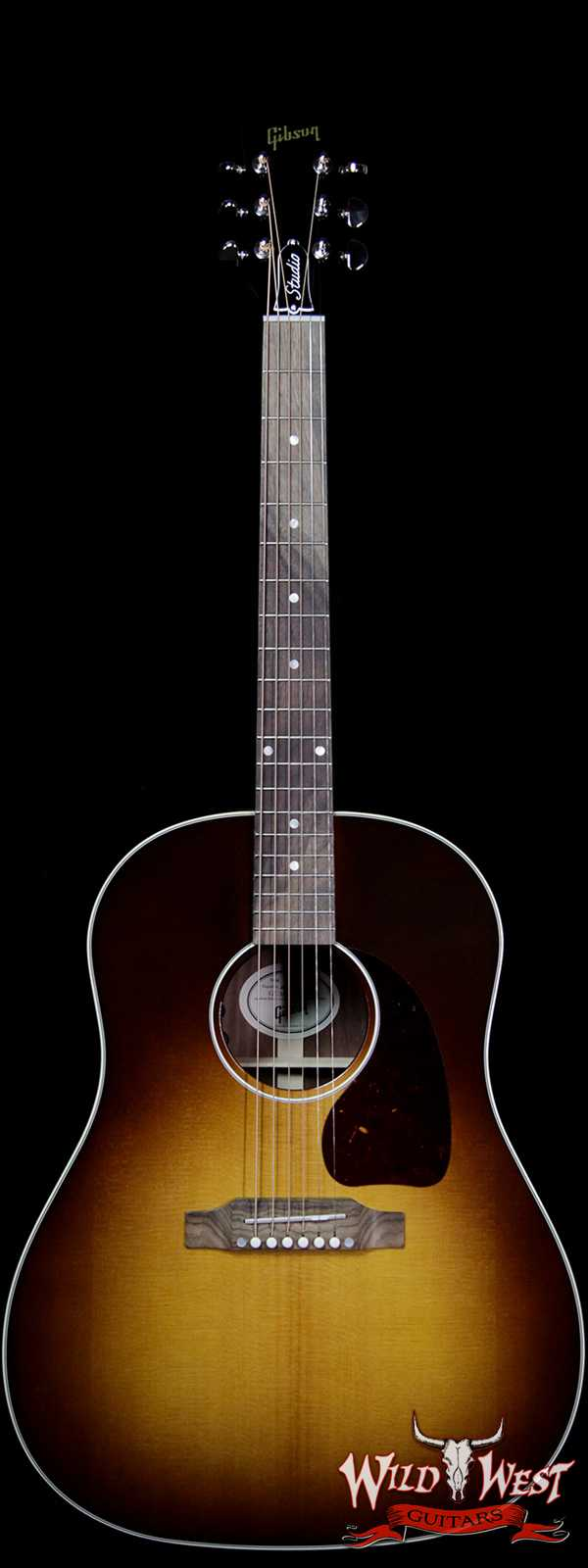 Gibson Montana J-45 Studio Walnut Burst Electric-Acoustic Guitar