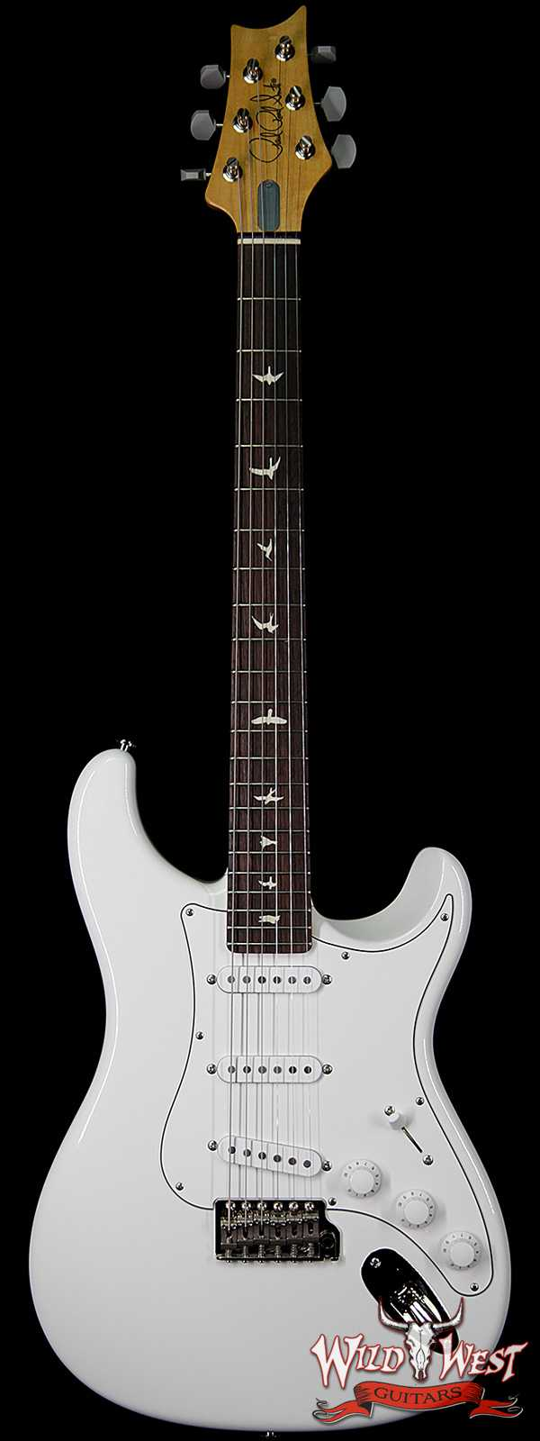 PRS John Mayer Signature Model Silver Sky Maple Neck Rosewood Fingerboard Frost White