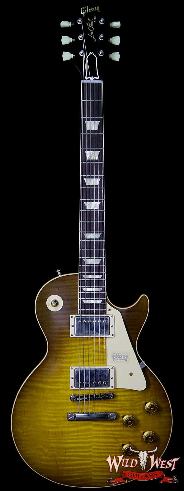 Gibson Custom Shop 60th Anniversary 1959 Les Paul Standard VOS Green Lemon Fade 8.50 LBS