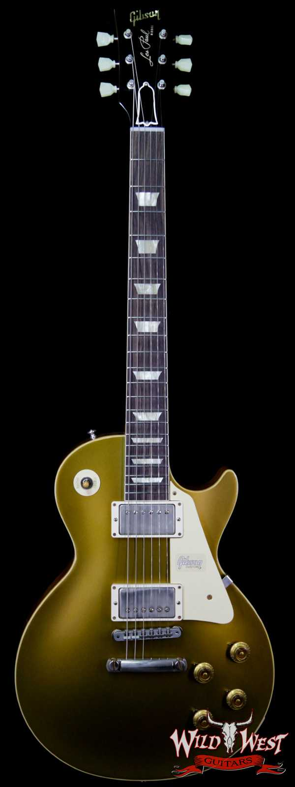Gibson Custom Shop 1957 Les Paul Goldtop Reissue VOS '57 Natural Back