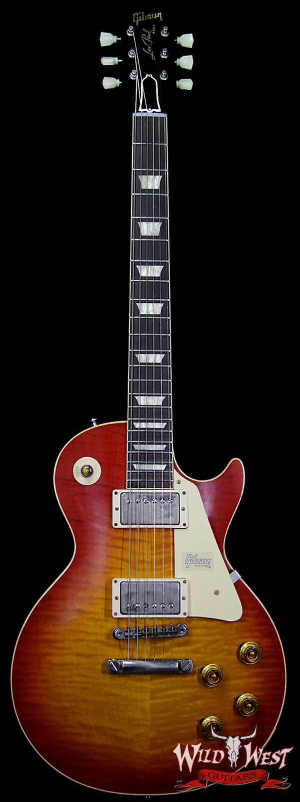 Gibson Custom Shop 60th Anniversary 1959 Les Paul Standard VOS Sunrise Teaburst 8.40 LBS