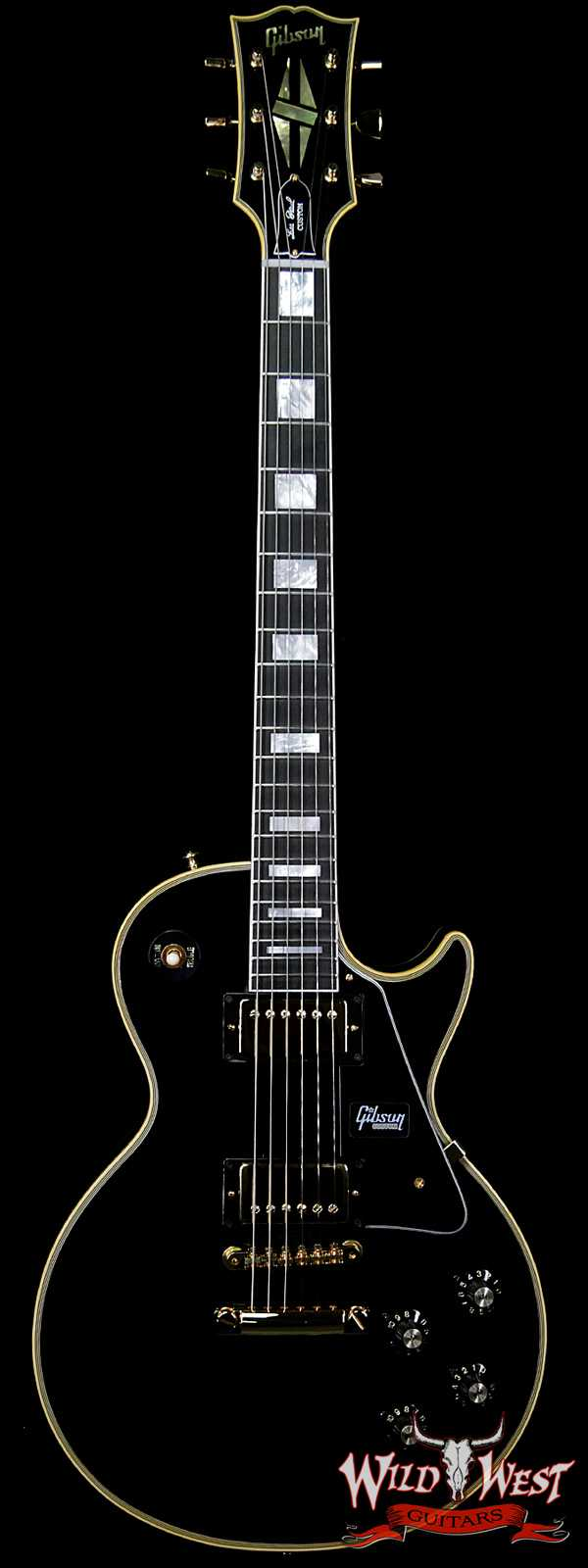 Gibson Custom Shop 1968 Les Paul Custom Reissue Gloss Ebony Fingerboard Ebony (Black) 9.00 LBS