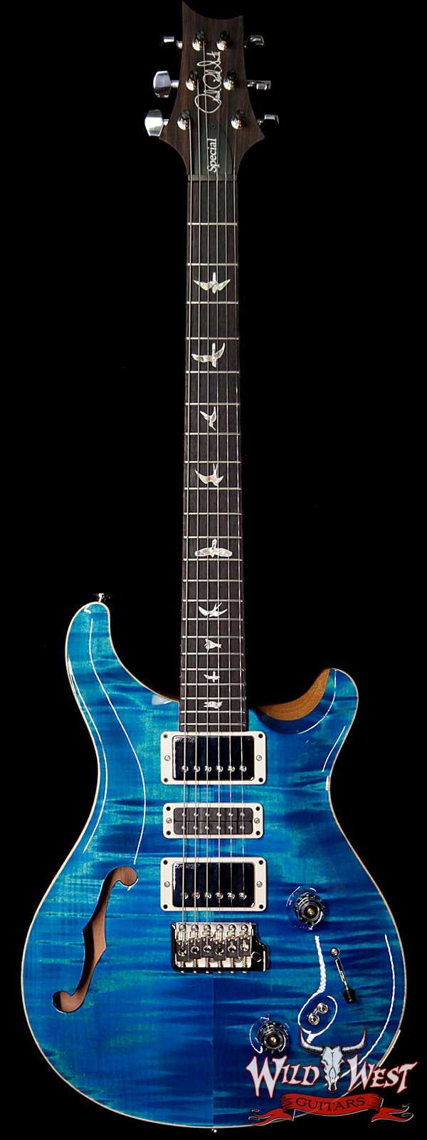 PRS Semi-Hollow Limited Edition Special 22 Rosewood Fingerboard Aquamarine