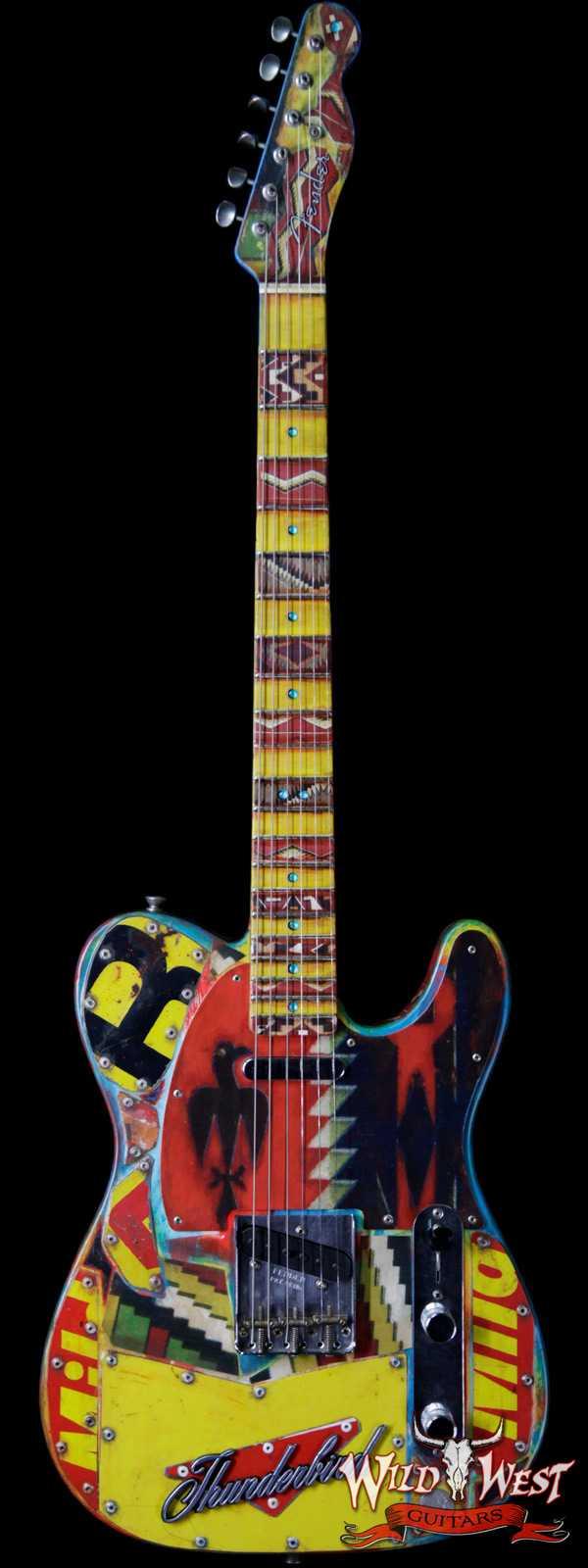 2017 Fender Custom Shop Greg Fessler Masterbuilt Thunderbird Telecaster Relic #2