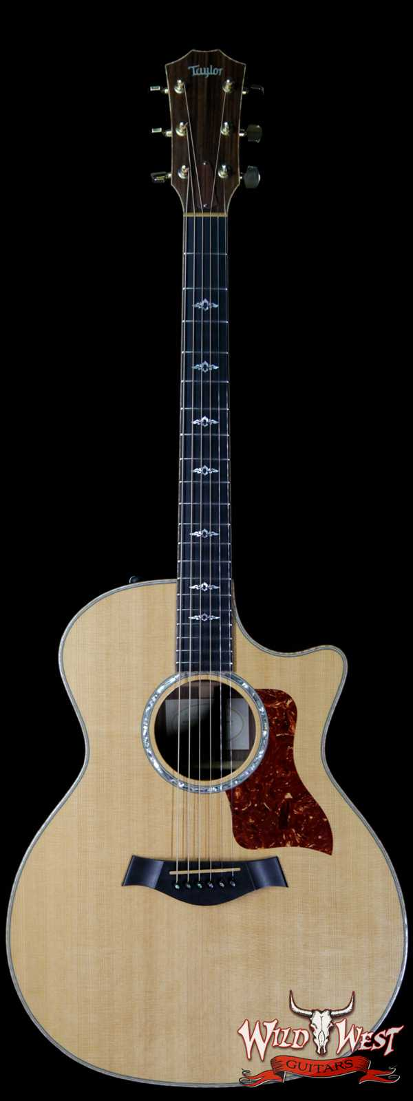 2008 Taylor 814CE Electric-Acoustic Guitar Ebony Fingerboard