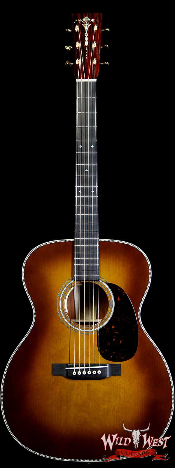 Martin Custom Shop 000-14F Adirondack Spruce Top with Cocobolo LR Baggs Ambertone Electric-Acoustic