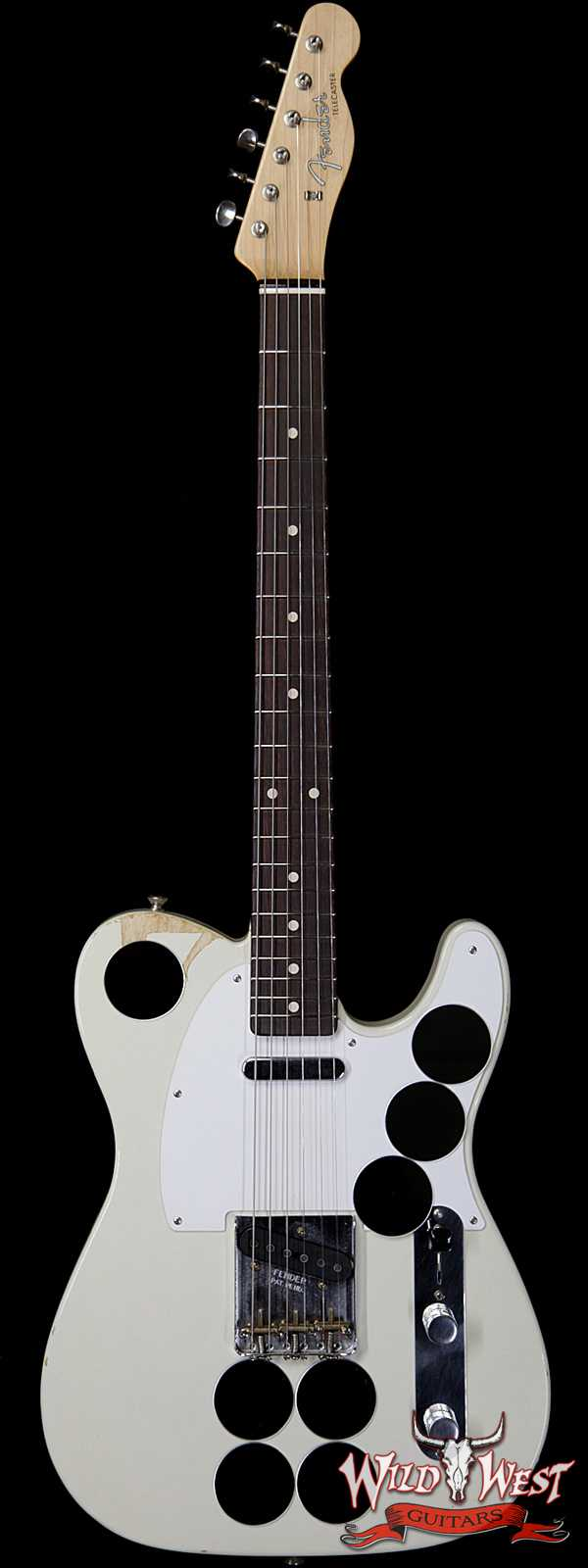 Fender Custom Shop Paul Waller Masterbuilt Jimmy Page Mirrored Telecaster
