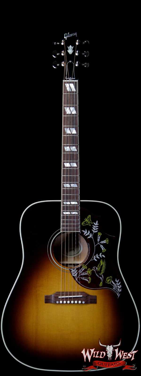 Gibson Montana Hummingbird Vintage Sunburst Electric-Acoustic Guitar