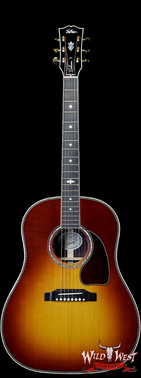 Gibson Montana J-45 Deluxe Rosewood Back & Side Rosewood Burst