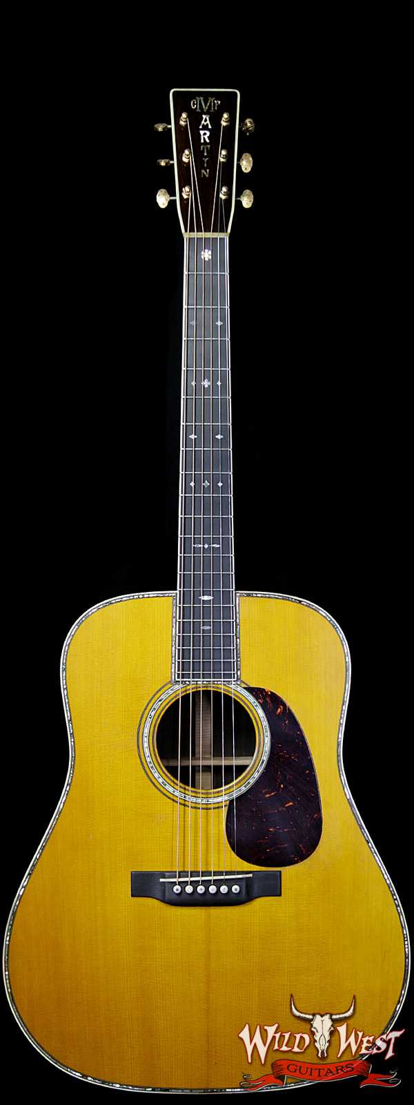 Martin USA D-45S Authentic 1936 Age Guitar