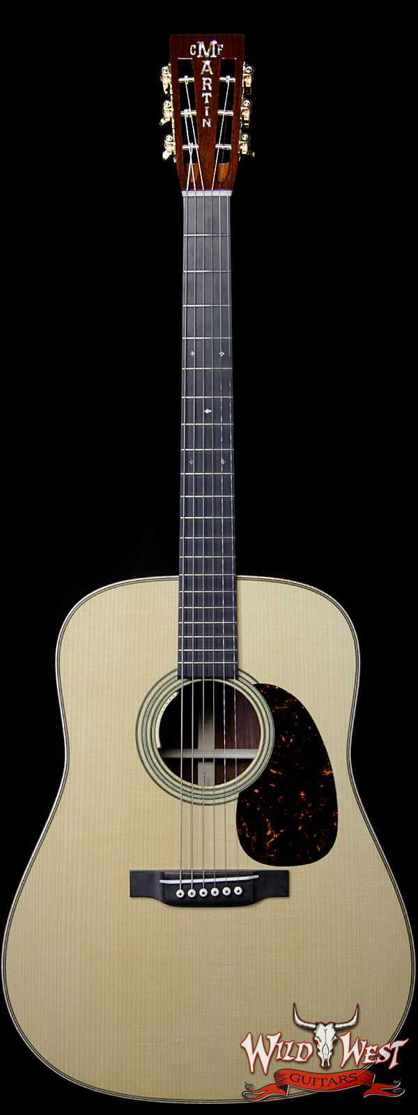 Martin Custom Shop D-14F Adirondack Spruce Top Madagascar Rosewood Back & Side Slotted Headstock LR Baggs Electric-Acoustic