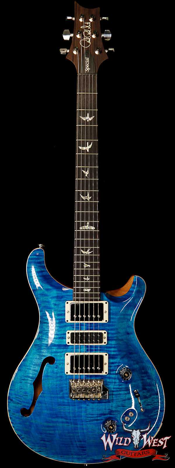 Paul Reed Smith PRS Semi-Hollow Limited Edition Special 22 Rosewood Fingerboard Aquamarine