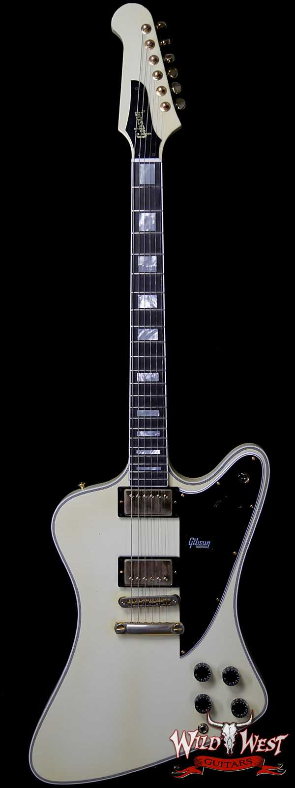 Gibson Custom Shop M2M Firebird Custom Aged Classic White