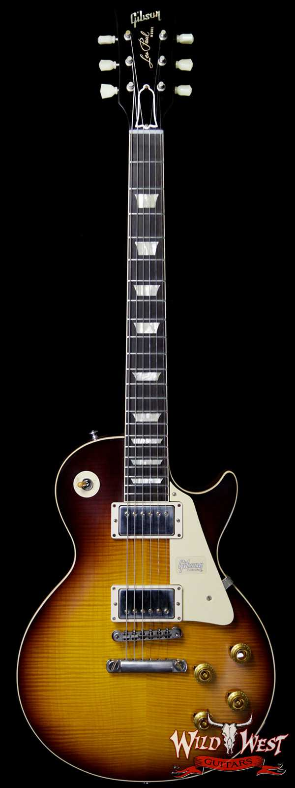 Gibson Custom Shop 60th Anniversary 1959 Les Paul Standard VOS Bolivian Rosewood Fretboard Kindred Burst 8.65 lbs