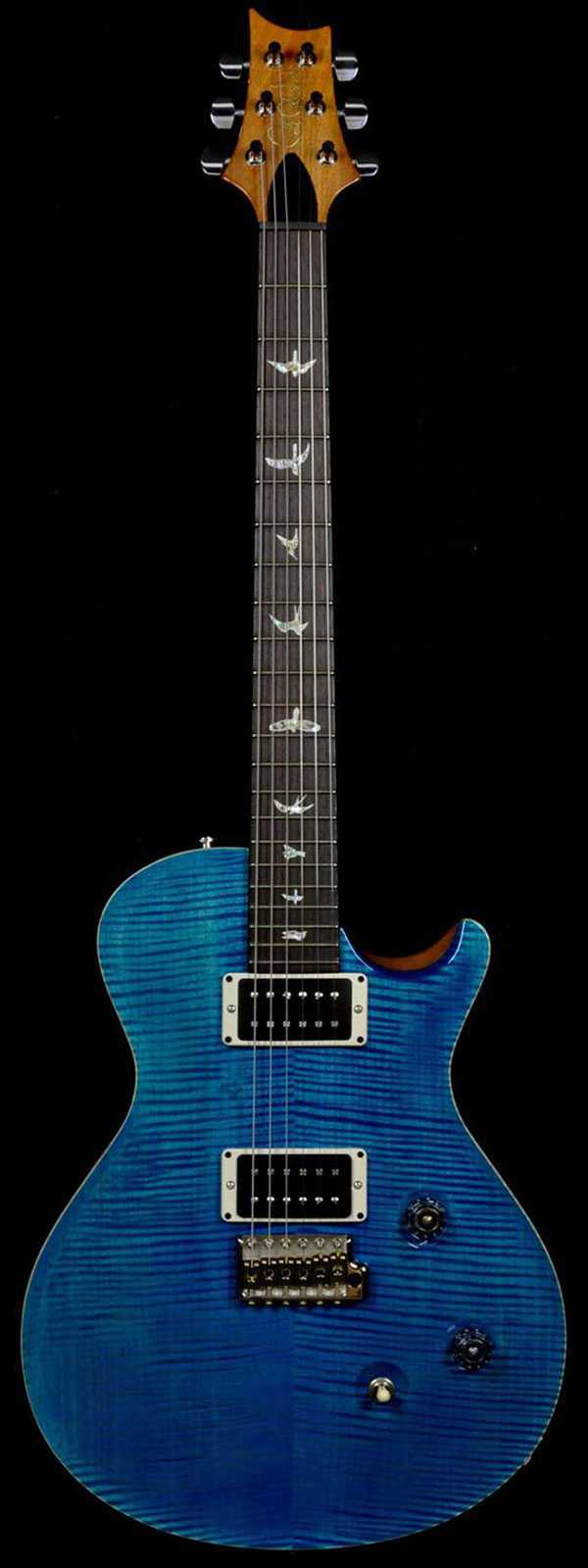PRS 2013 Experience Singlecut Trem Blue Mateo only 50 Made