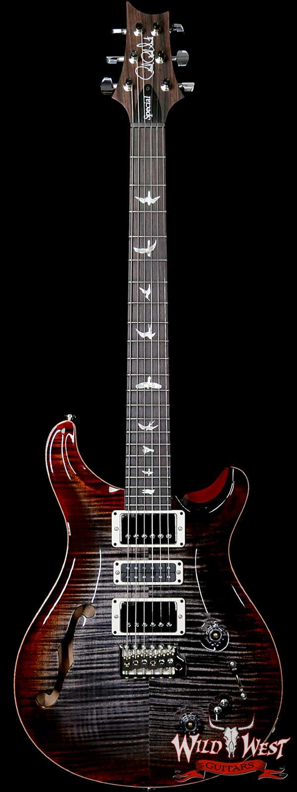 Paul Reed Smith PRS Semi-Hollow Limited Edition Special 22 Rosewood Fingerboard Charcoal Cherry Burst