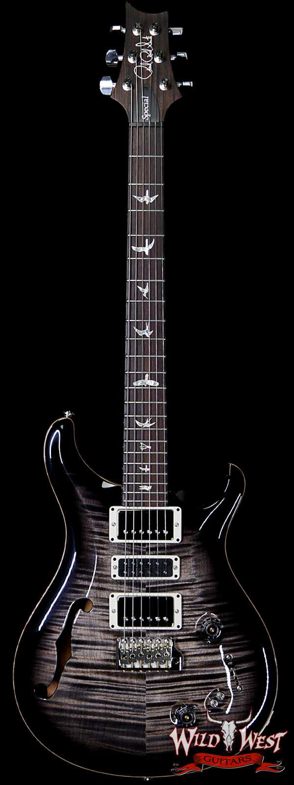 Paul Reed Smith PRS Semi-Hollow Limited Edition Special 22 Rosewood Fingerboard Charcoal Burst