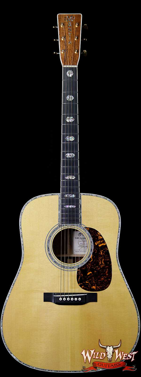 2013 Martin Limited Edition D-45 Commemorative #47 of 91 Adirondack Spruce with Madagascar Rosewood Electric-Acoustic