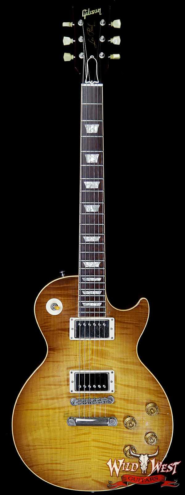 2008 Gibson Custom Shop R8 1958 Reissue Les Paul Standard Lemon Burst