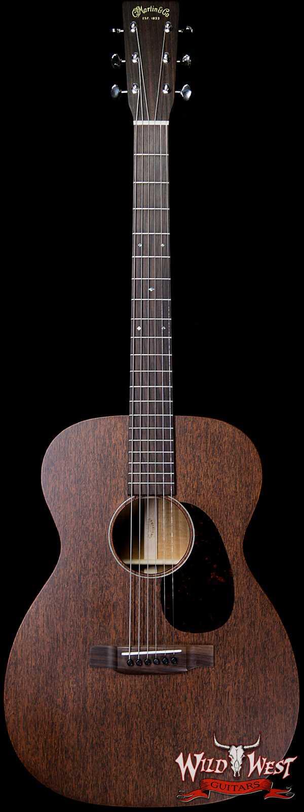 2019 Martin USA 15 Series 000-15M Electric-Acoustic Guitar  Dark Mahogany with Gig Bag
