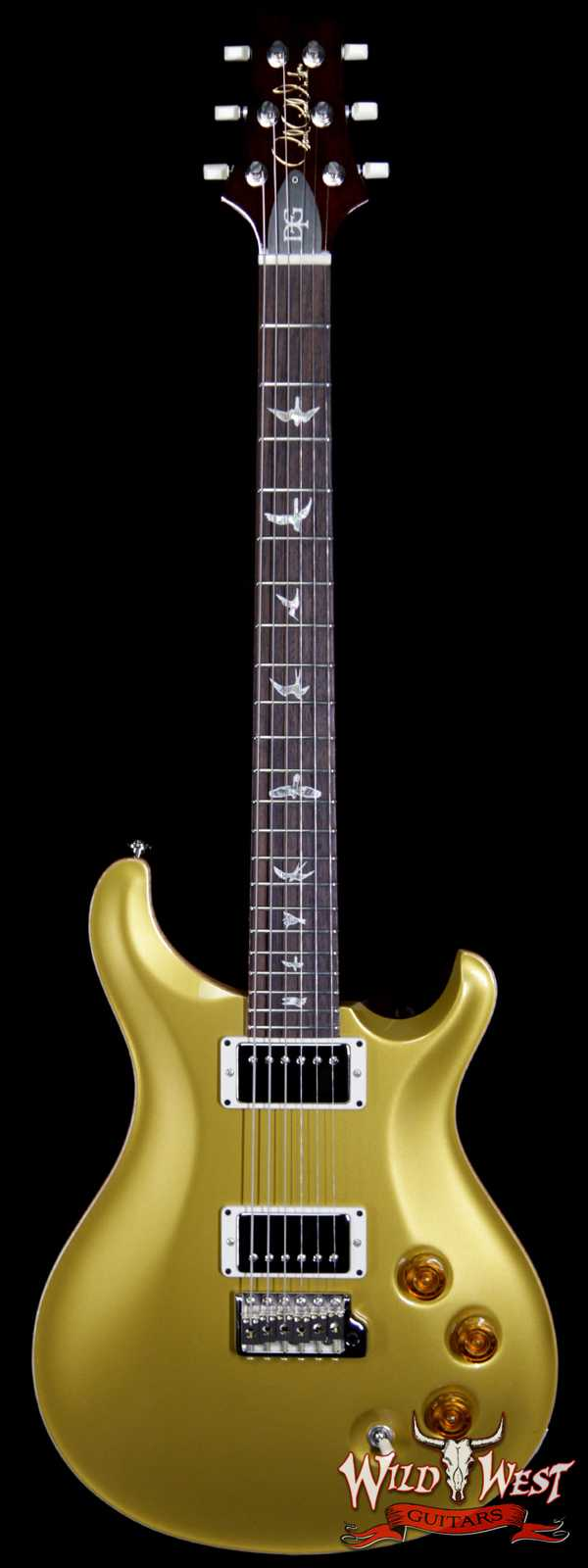 Paul Reed Smith PRS Core DGT David Grissom Trem Goldtop Birds Inlay