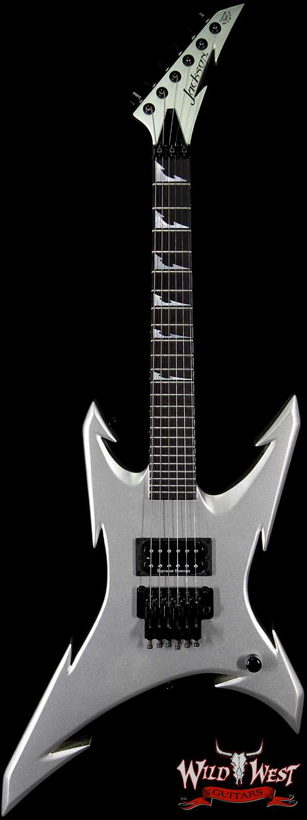 2009 NAMM Limited Jackson Custom Shop Pablo Santana Masterbuilt 3/4 Size Mini Extreme Warrior Floyd Rose Quicksilver