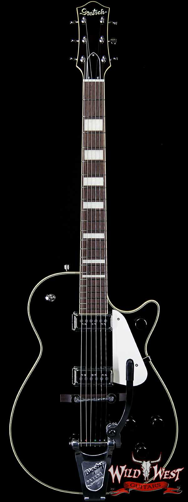 Gretsch G6128T-53 Vintage Select '53 Duo Jet With Bigsby TV Jones® T-Armond Black