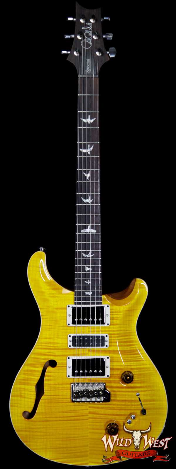 Paul Reed Smith PRS Limited Edition Special 22 Semi-Hollow Rosewood Fingerboard Santana Yellow