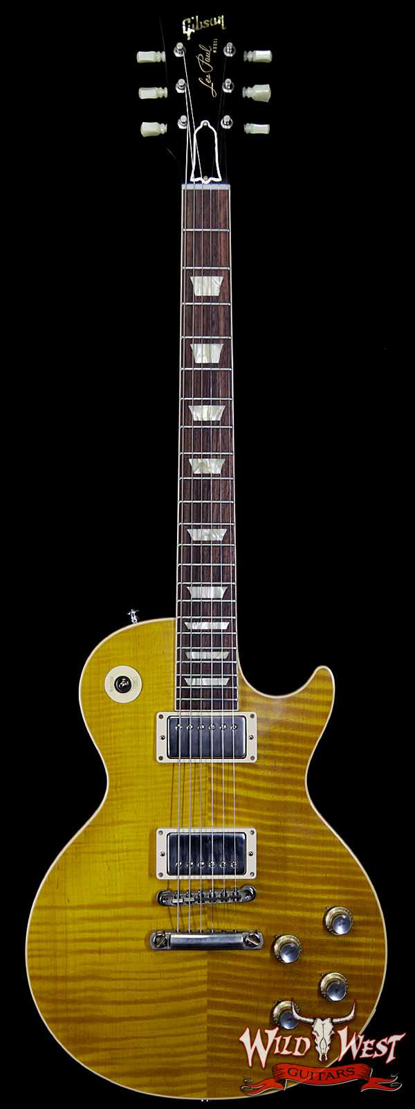 Gibson Custom Shop M2M Hand Selected Kill Top 1960 Les Paul Standard '60 Reissue R0 VOS Mojave Fade 8.30 LBS
