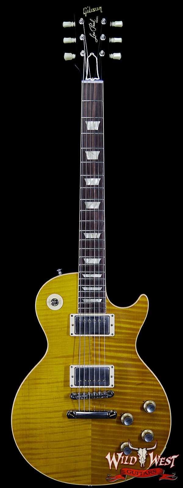 Gibson Custom Shop M2M Hand Selected Kill Top 1960 Les Paul Standard '60 Reissue R0 VOS Mojave Fade 8.40 LBS