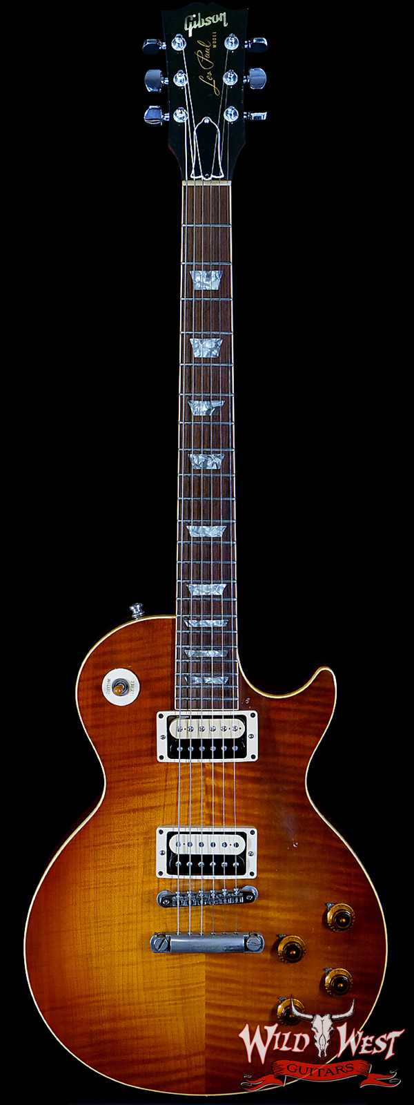 1985 Gibson Pre-Historic '59 Les Paul Reissue R9 Owned by Jon Levin of Dokken