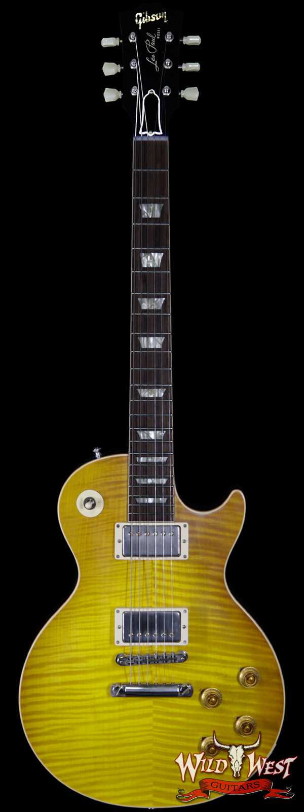 Gibson Custom Shop M2M Hand Selected Kill Top 60th Anniversary 1959 Les Paul Standard VOS Honey Lemon Fade 8.80 lbs