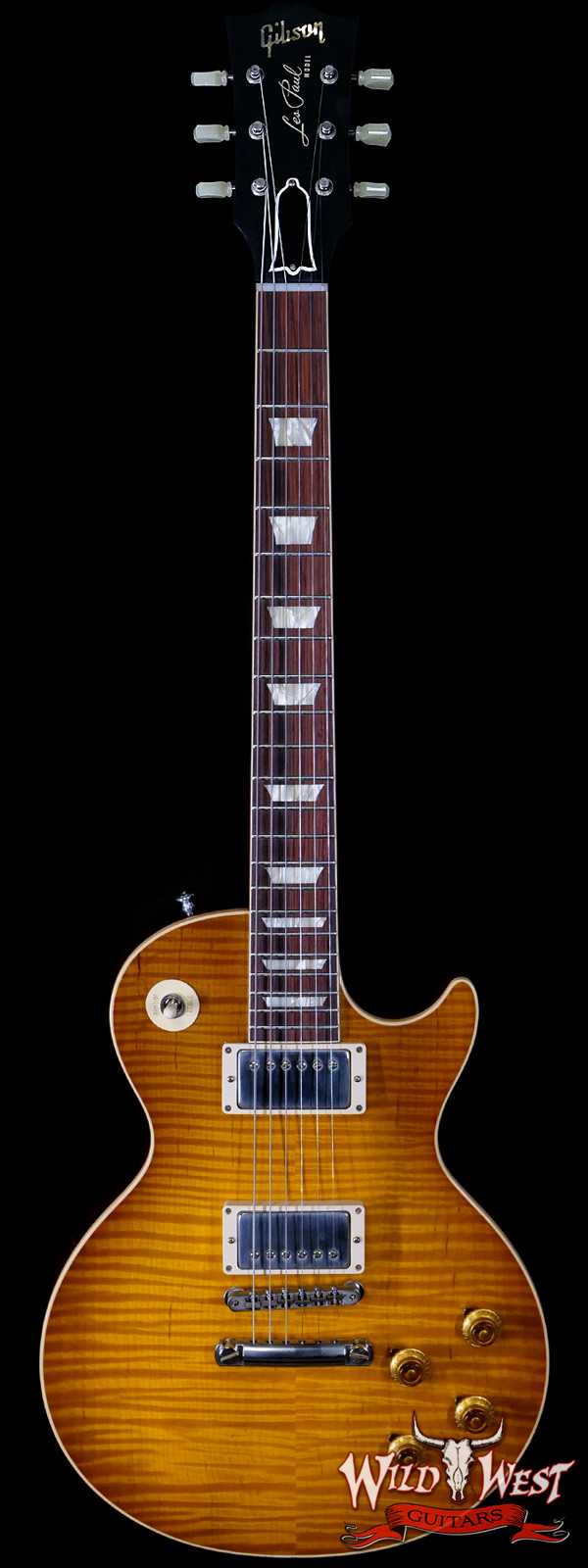 Gibson Custom Shop M2M Hand Selected Kill Top 60th Anniversary 1959 Les Paul Standard VOS Dirty Lemon Fade 9.05 LBS