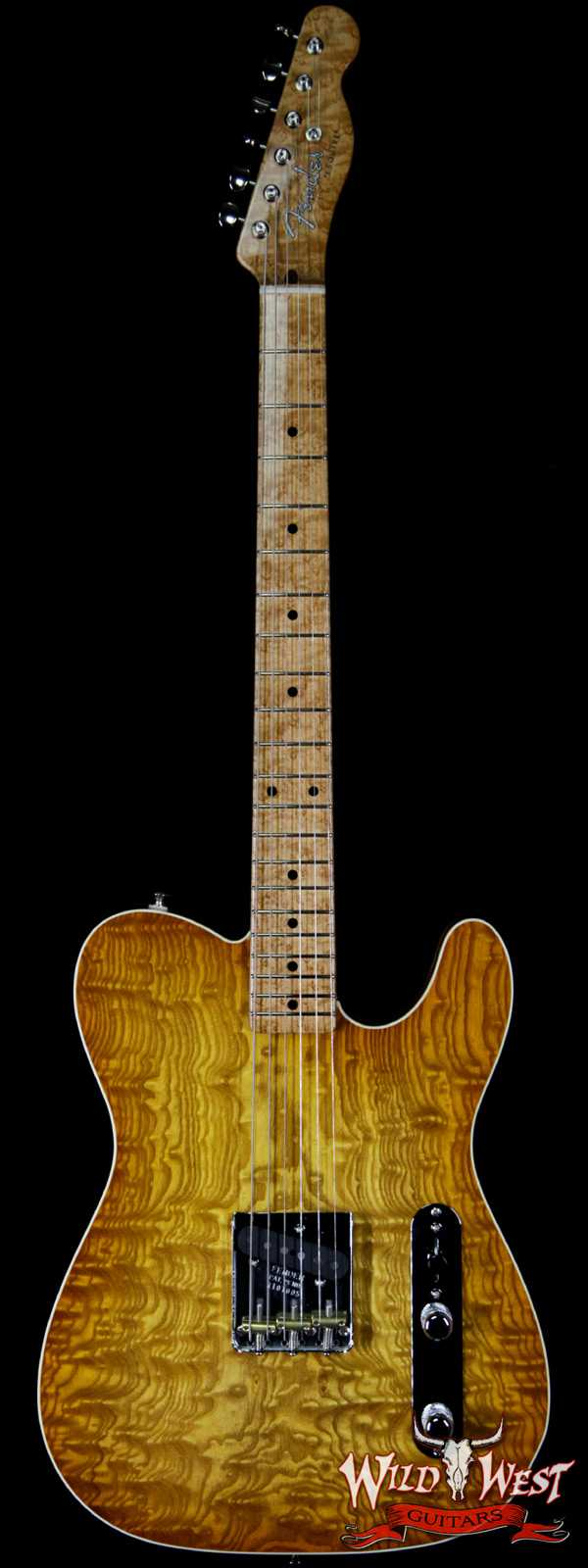 2020 NAMM Fender Custom Shop Prestige Dale Wilson Masterbuilt 1-Piece Tamo Ash Esquire NOS Honey Burst One of A Kind