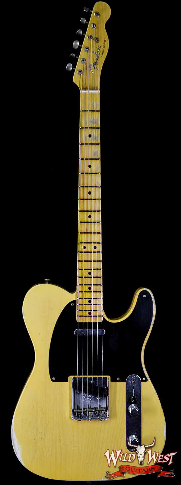 Fender Custom Shop Limited Edition 70th Anniversary Broadcaster (Telecaster) Relic Nocaster Blonde R104599