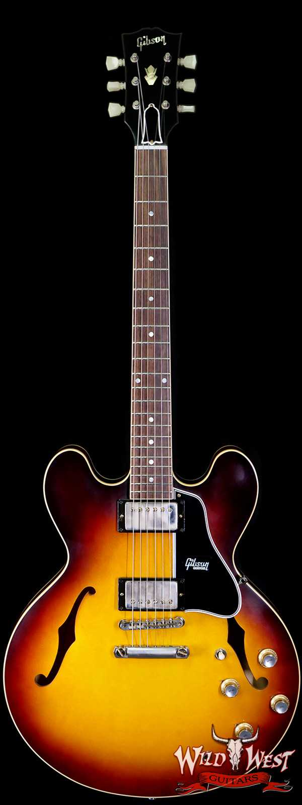2020 NAMM Gibson Custom Shop 1961 ES-335 Dots Reissue VOS Vintage Burst