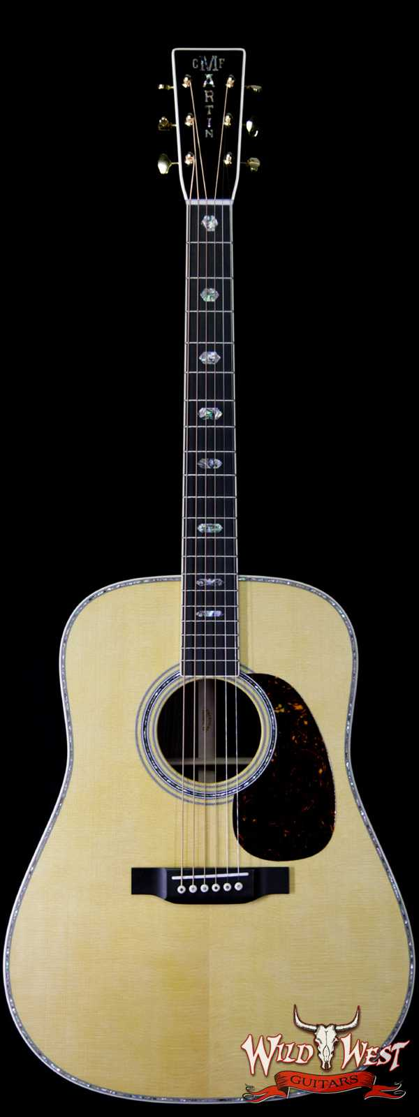 Martin USA Standard Series D-41 Dreadnought Guitar East Indian Rosewood Back & Side Aging Toner