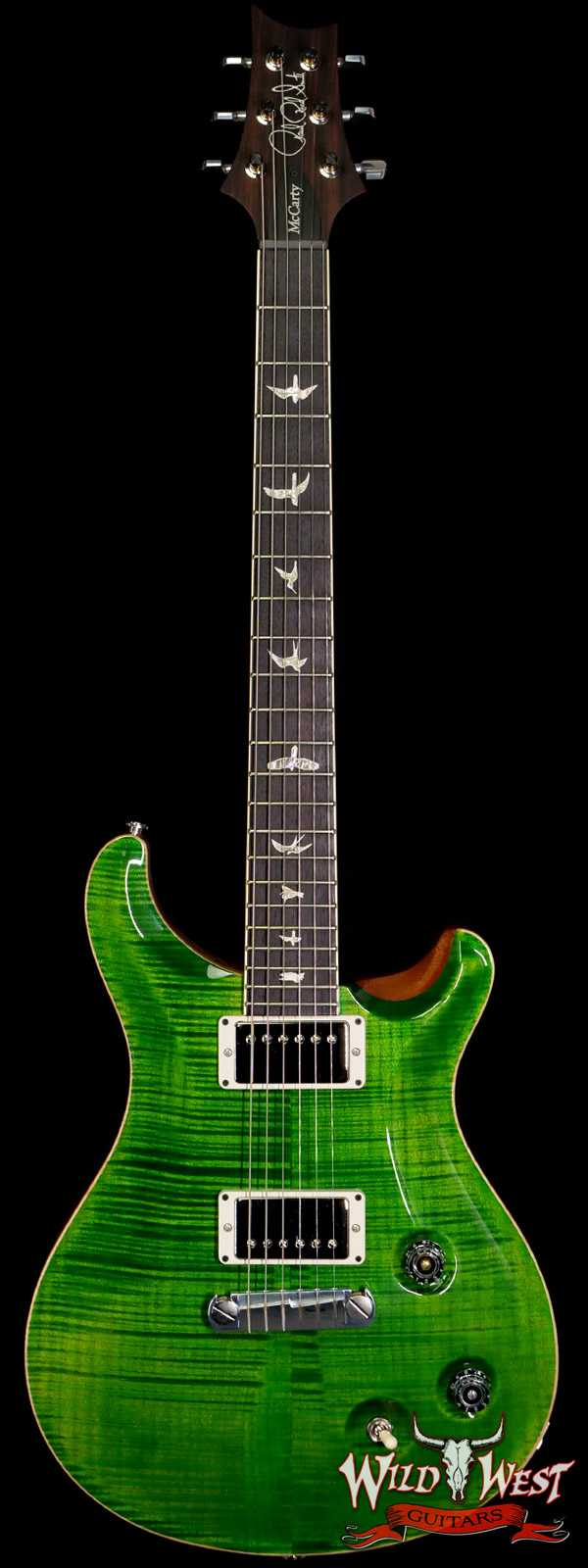 Paul Reed Smith PRS Core McCarty Flame Top East Indian Rosewood Fingerboard Emerald