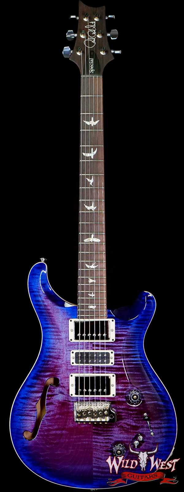 Paul Reed Smith PRS Limited Edition Special 22 Semi-Hollow Rosewood Fingerboard Violet Blue Burst