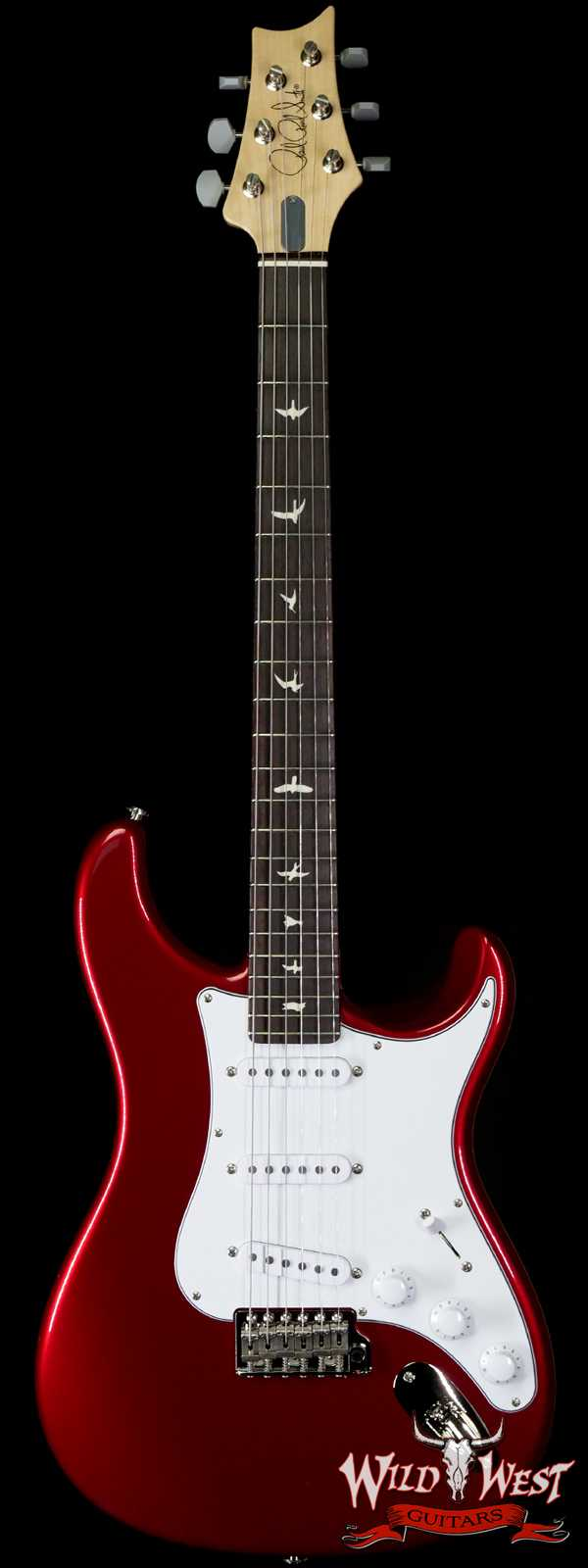 Paul Reed Smith PRS John Mayer Signature Model Silver Sky Rosewood Board Horizon (Red)
