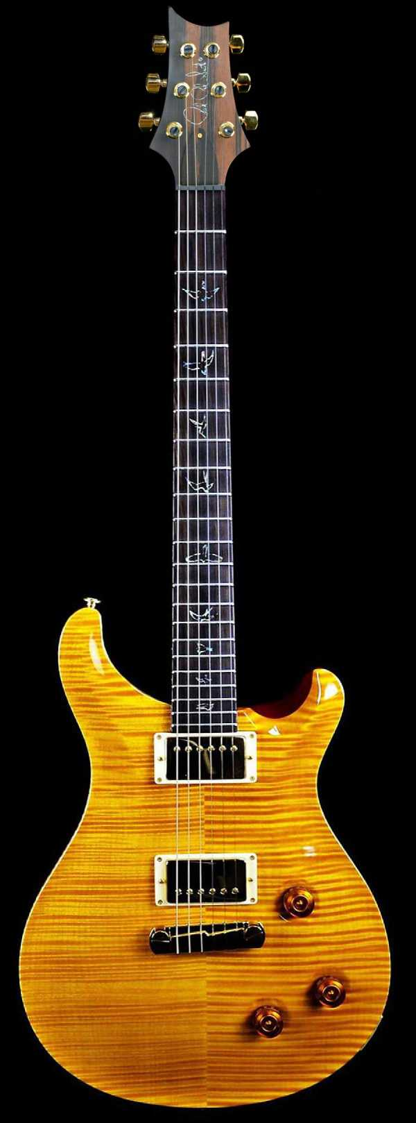 PRS Custom 22 Vintage Yellow with Gold Hardware