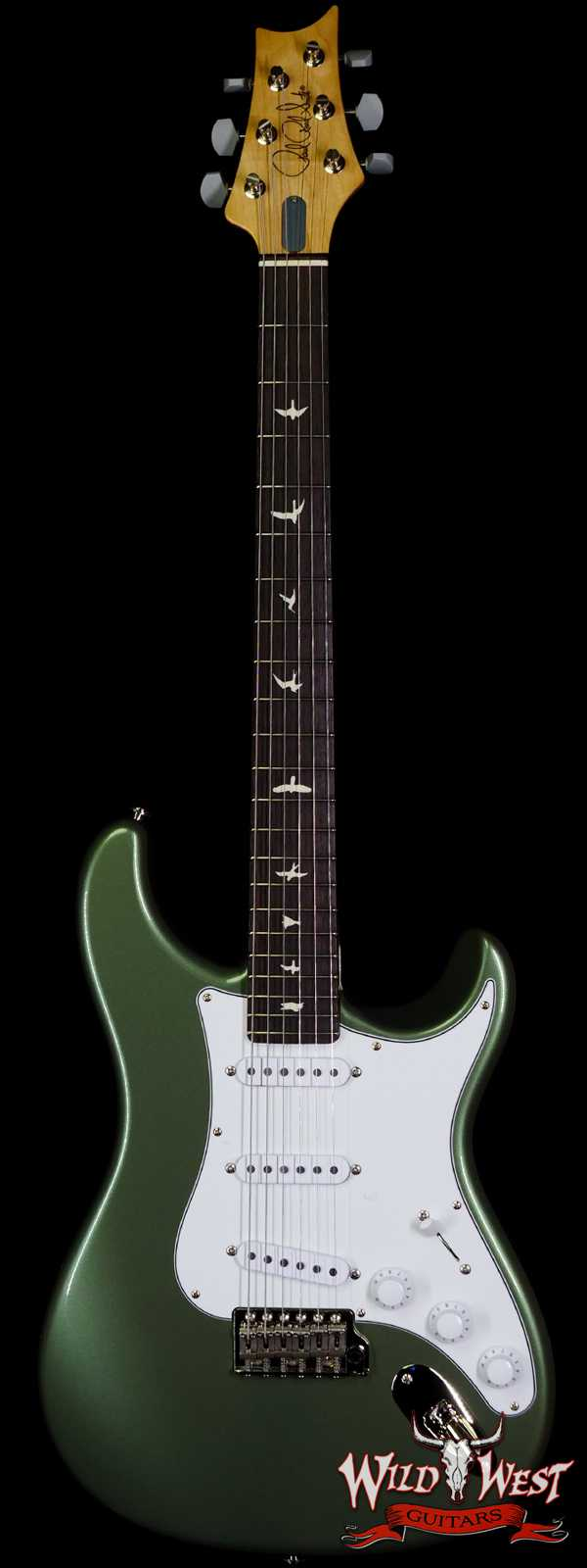 Paul Reed Smith PRS John Mayer Signature Model Silver Sky Rosewood Fingerboard Orion Green