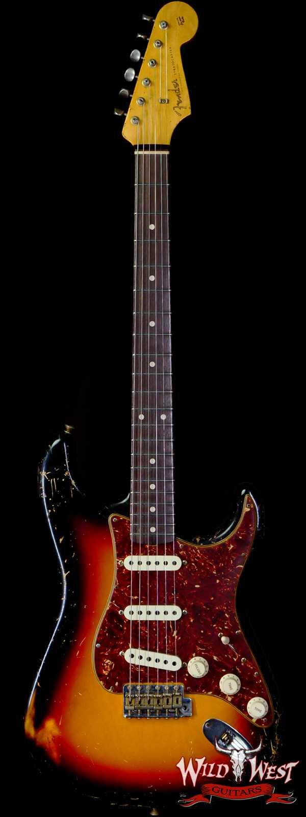 Fender Custom Shop Dennis Galuszka Masterbuilt 1960 Stratocaster Relic Josefina Hand-Wound Pickups 3 Tone Sunburst