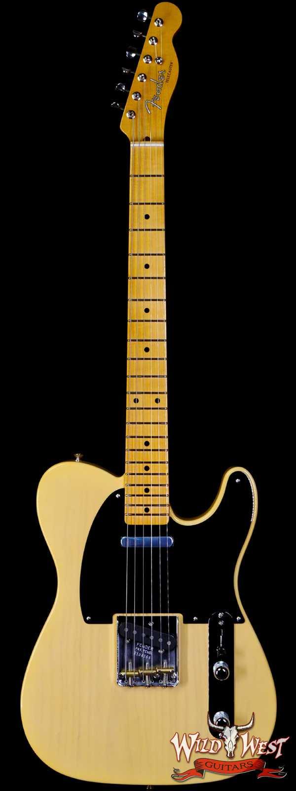 Fender Custom Shop Ltd 1952 Telecaster NOS Nocaster Blonde Hand-Wound Pickups