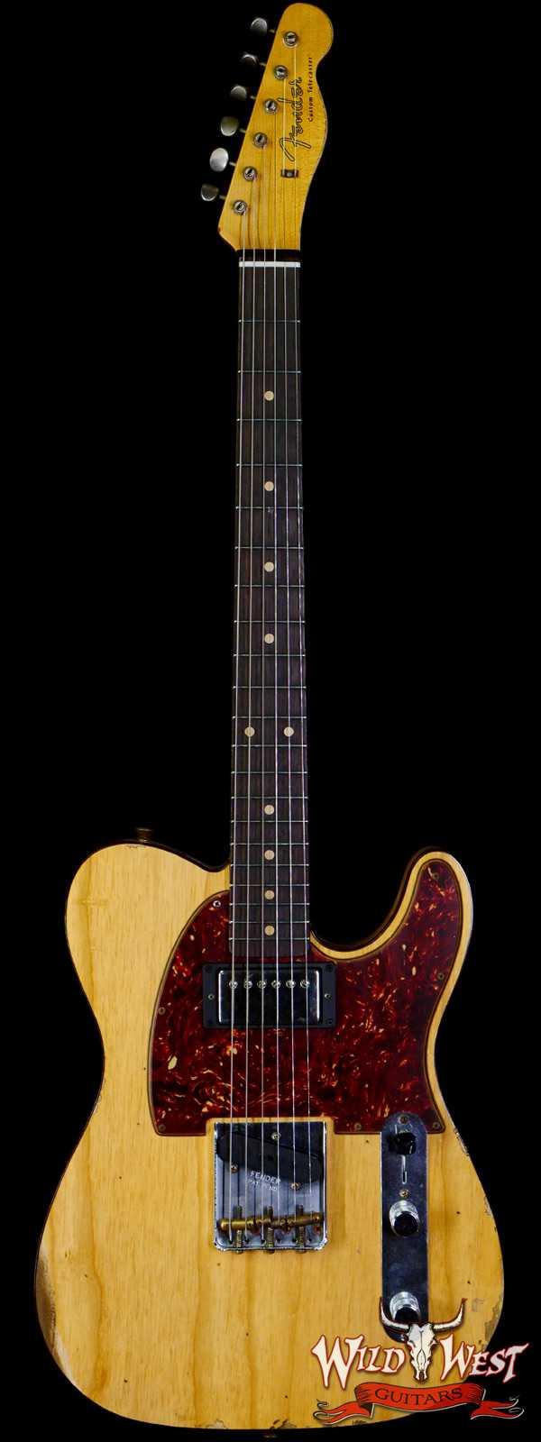 Fender Custom Shop 1960 HS Telecaster Custom Relic Aged Natural