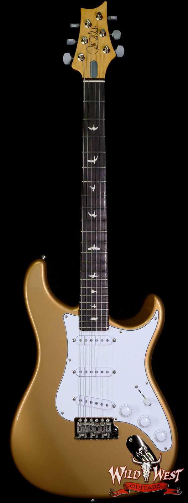 Paul Reed Smith PRS John Mayer Signature Model Silver Sky Rosewood Fingerboard Golden Mesa
