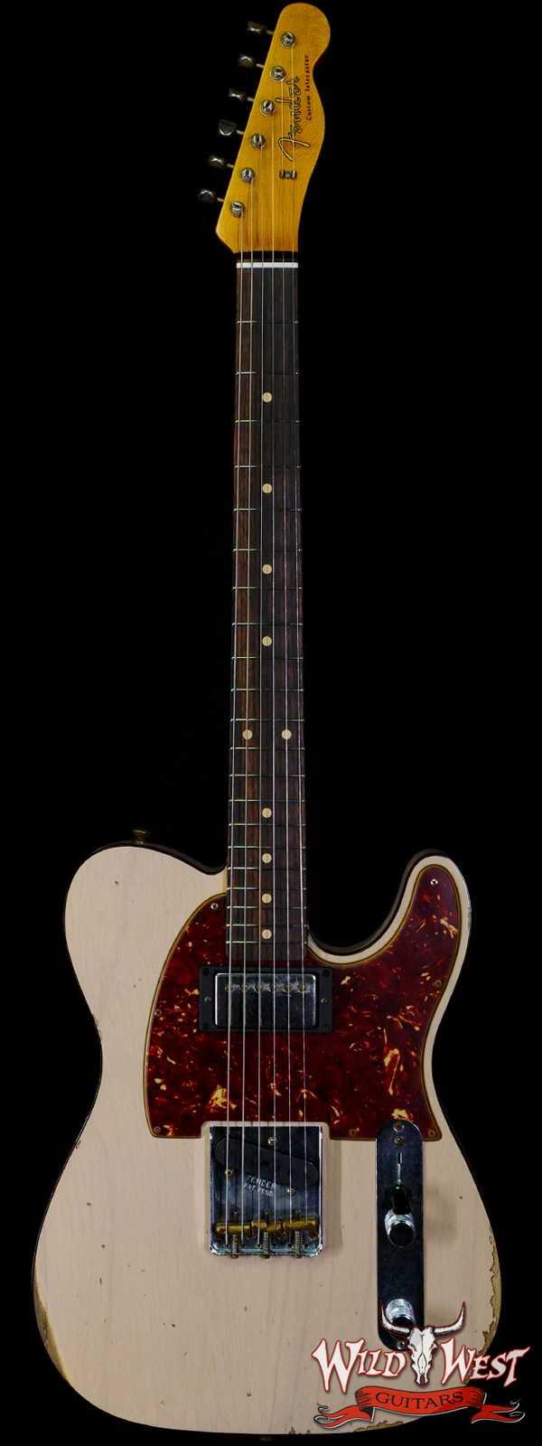 Fender Custom Shop 1960 HS Telecaster Custom Relic Aged Dirty White Blonde