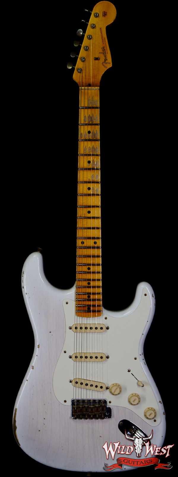 Fender Custom Shop 1957 Stratocaster Relic Ash Body Quartersawn Maple Neck Mary Kaye Blonde