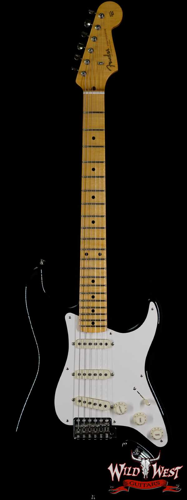 Fender Custom Shop Dennis Galuszka Masterbuilt 50's Stratocaster Lush Closet Classic Black Josefina Hand-Wound Pickups