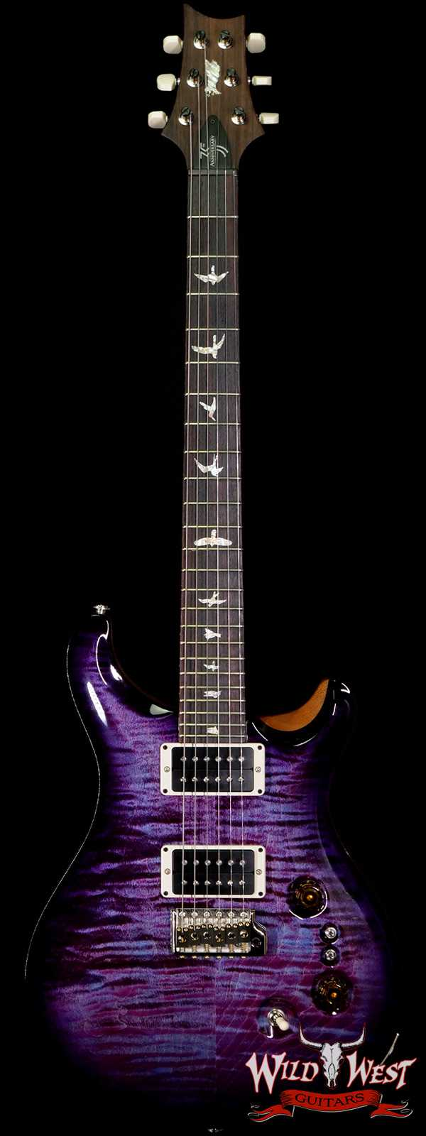 Paul Reed Smith PRS 35th Anniversary Custom 24 Violet Burst